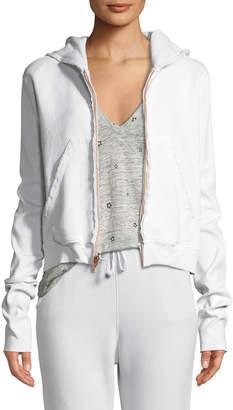 Frank And Eileen Fleece Zip Hoodie Sweatshirt Jacket