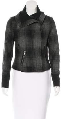 A.L.C. Plaid Wool Jacket