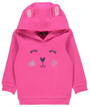 George Pink Rabbit Hoodie