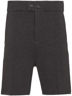 Lot 78 Lot78 Structured cotton blend shorts
