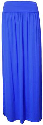 Roland Mouret Fashions New Women's Plus Size Foldover High Waisted Turn up Maxi Skirt Made in UK