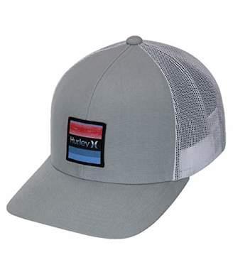 cd20bf0b655dbd Hurley Men's Overspray Trucker Hat