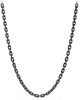 David Yurman Titanium Chain Link Necklace