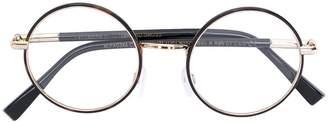 Cutler & Gross tortoiseshell round glasses