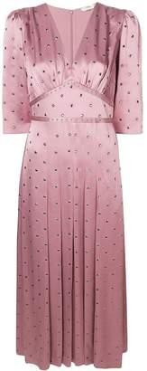 Fendi studded flared maxi dress