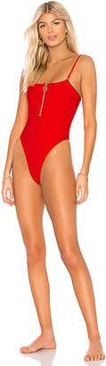 Frankie's Bikinis Frankies Bikinis Flash High Leg One Piece