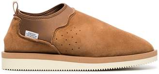 Suicoke brown ron-m suede leather mid boots