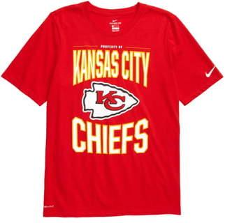 Nike NFL Logo Property of Kansas City Chiefs Dri-FIT T-Shirt