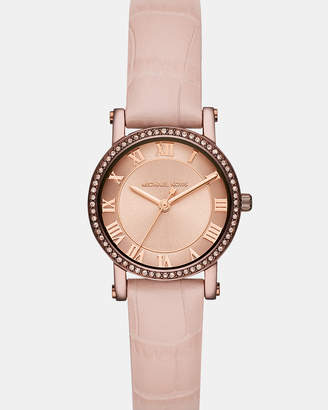 Michael Kors Norie Pink Analogue Watch