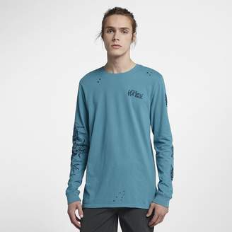 Hurley Draggin Destroy Grind Men's Long Sleeve T-Shirt