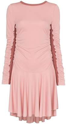 See by Chloe ribbed panel mini dress