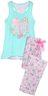 LTB Max & Olivia 2-Pc. Graphic-Print Pajama Set, Little & Big Girls