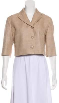 Akris Punto Silk Cropped Jacket