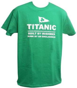 Celtic Clothing Company Funny Irish Shirt, Men's Titanic t-Shirt