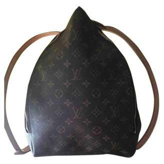 760ea813e757e3 Louis Vuitton Vintage Camel Leather Backpacks