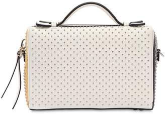 Tod's Mini Don Baulet Studded Leather Bag