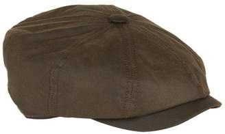 Stetson Hatteras Waxed Cotton Flat Cap