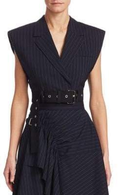 3.1 Phillip Lim Cropped Wool Vest
