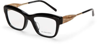 Burberry BE2211 Black Angular Cat Eye Optical Frames
