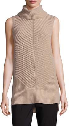 HUGO BOSS Women's Fala Virgin Wool, Yak & Cashmere Turtleneck Sweater