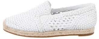 Michael Kors Leather Espadrille Sneakers