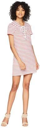 Bardot Stripe Swing Dress Women's Dress
