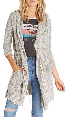 Billabong Way Side Hooded Duster $69.95 thestylecure.com