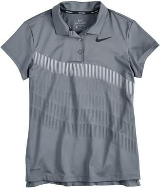 Nike Girls 7-16 Dri-FIT Golf Polo Shirt