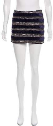 Gryphon Embellished Mini Skirt