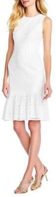 Adrianna Papell Vintage Lace Sheath Dress