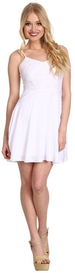 BB Dakota Rexford Dress (White) - Apparel