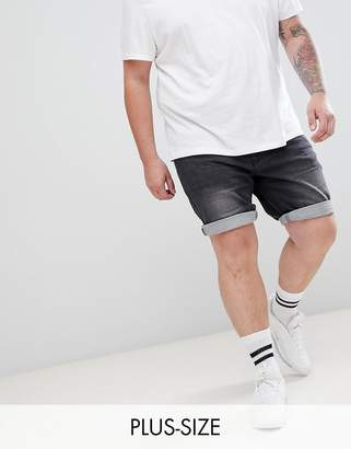 Replika Plus Skinny Fit Denim Short With Stretch