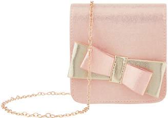Monsoon Yasmin Bow Shimmer Bag