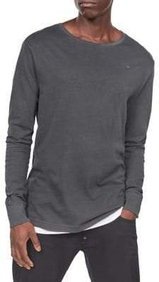 G Star Long Sleeve Cotton T-Shirt
