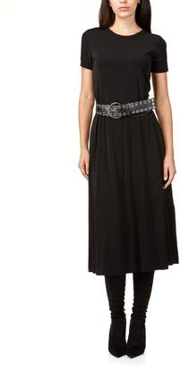 Michael Kors Ss Crew Belt Dress