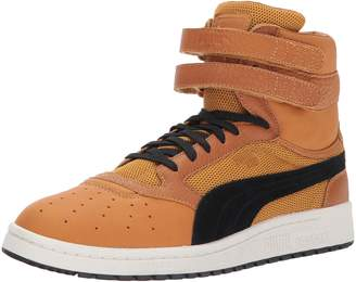 Puma Men's Sky II Hi Color Blocked Lthr Sneaker, Toreador Black