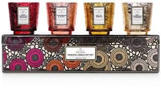 Voluspa Pedestal Candle Gift Box, Set of 4