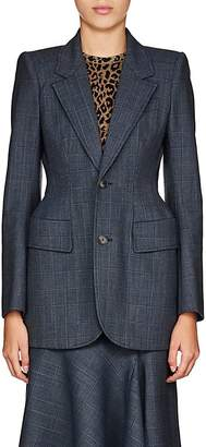Balenciaga Women's Wool-Blend Hourglass Two-Button Blazer