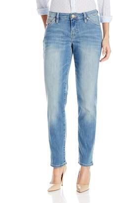 Jag Jeans Women's Alex Boyfriend Platinum Denim in