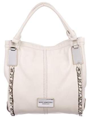 Andrew Marc Leather Tote Bag