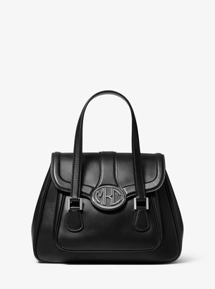 Monogramme Vachetta Leather Satchel