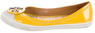 Tory BurchTory Burch Patent Leather Cap-Toe Flats