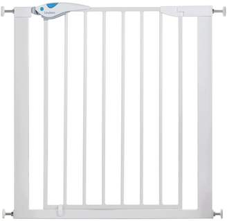 Lindam 051298 Easy Fit Plus Deluxe Pressure Fit Safety Gate - 76-82 cm, White by