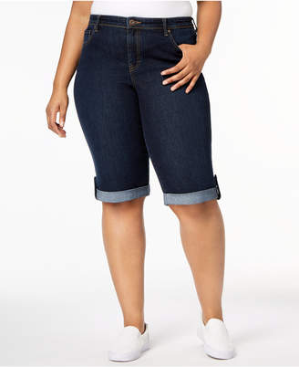 Style&Co. Style & Co Plus Size Denim Shorts, Created for Macy's