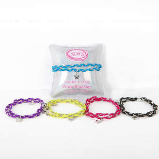 red berry apple Girls Wraparound Bracelet With Charm On Pillow