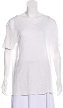 IRO Backless Short Sleeve T-shirt