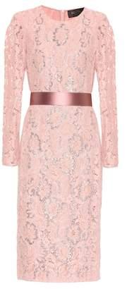 Max Mara Gala floral lace dress