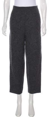 Stella McCartney Wool High-Rise Pants
