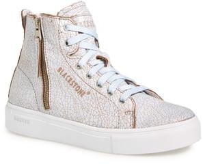 Blackstone 'LL78' Crackled High Top Platform Sneaker