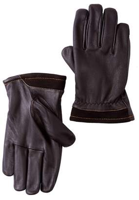 UGG Faux Fur Lined Captain Pieced Leather Glove